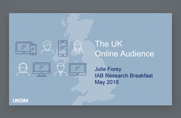 IAB UK Research Breakfast - May 2018